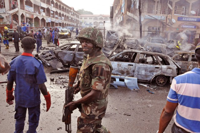 Les islamistes de Boko Haram ont de plus... (PHOTO OLAMIKAN GBEMIGA, ARCHIVES AP)