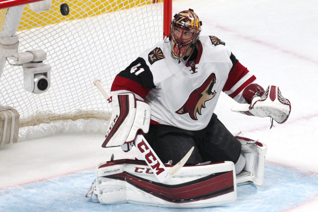 Mike Smith... (Photo Jean-Yves Ahern, USA Today)