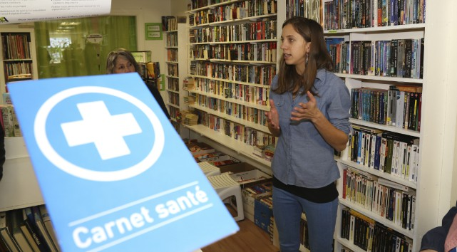 Gabrièle Laliberté Auger, chargée du projet Mot à... (photo Janick Marois)