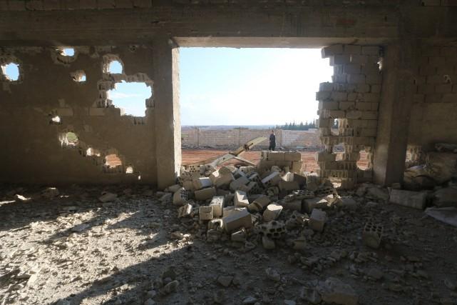 Selonl'Observatoire syrien des droits de l'Homme (OSDH), les... (PHOTO AMMAR ABDULLAH, REUTERS)