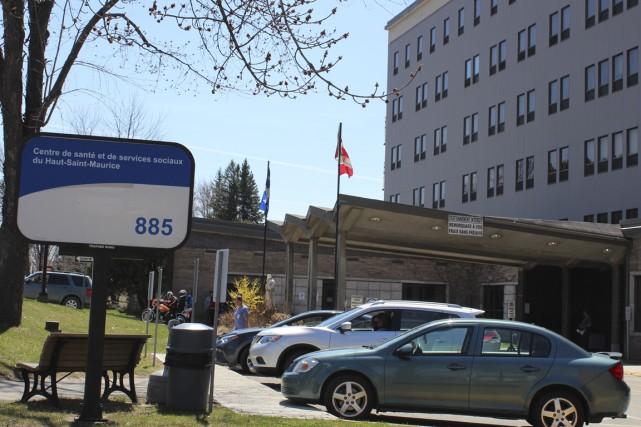 En mai dernier, l'hôpital de La Tuque a... (Audrey Tremblay)