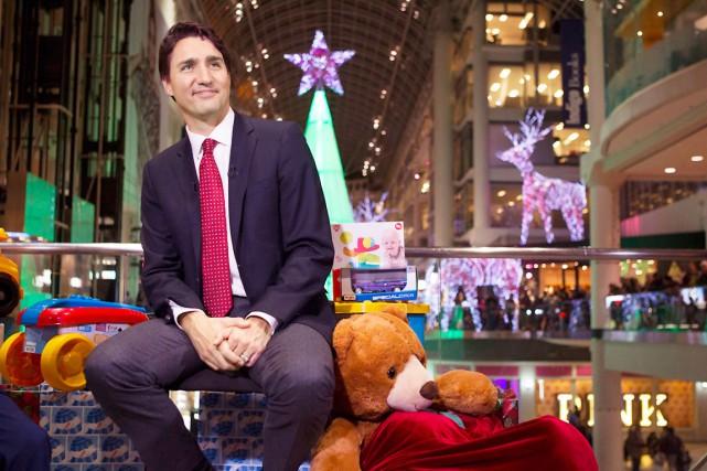 Le premier ministre Justin Trudeau a promis par... (La Presse Canadienne, Chris Young)