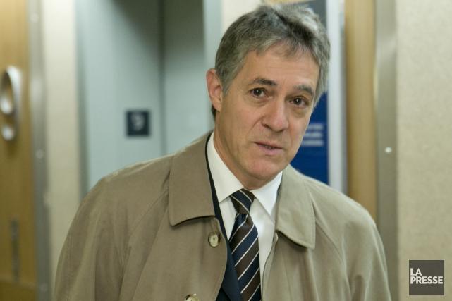 Le commissaire Renaud Lachance... (La Presse)
