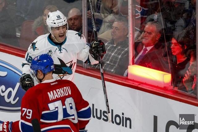 Relisez le clavardage du match entre le Canadien et les Sharks de San Jose avec... (PHOTO OLIVIER PONTBRIAND, LA PRESSE)