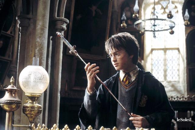 Daniel Radcliffe dans une scène du film Harry... (Photothèque Le Soleil)