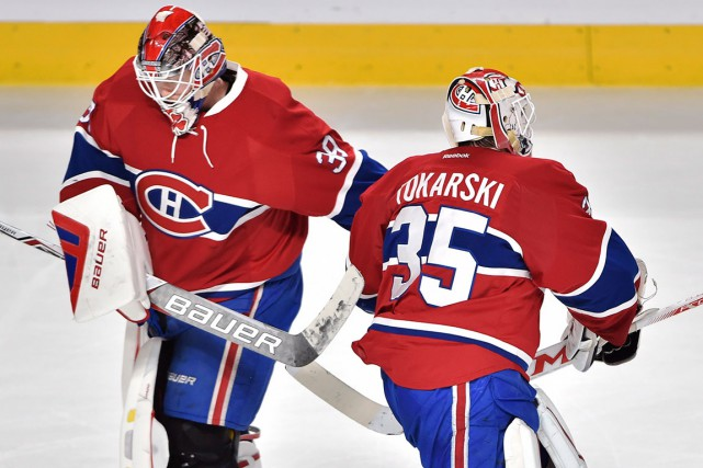 Mike Condon a pris la relève de Dustin Tokarski... (Photo Ryan Remiorz, archives PC)