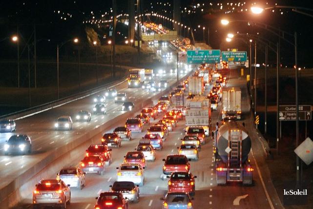 L'auto et le transport routier sontla principale source... (Photothèque Le Soleil, Erick Labbé)