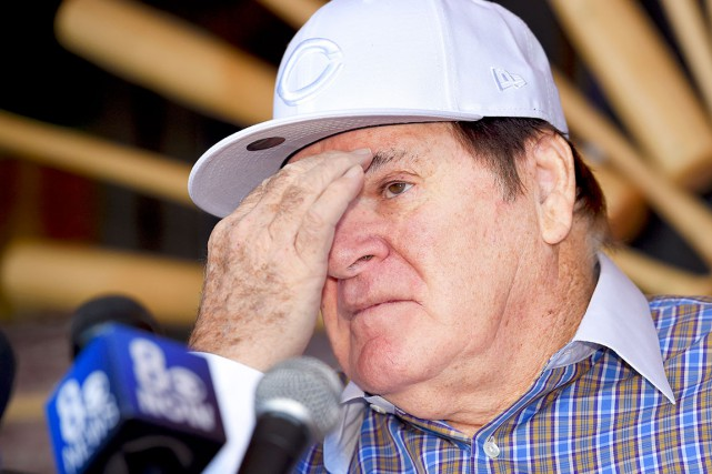 Les Phillies devaient introniser Pete Rose à leur... (AP, Mark J. Terrill)