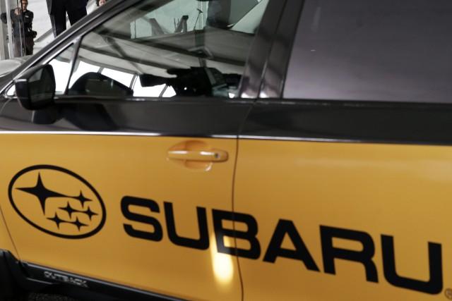 Un propriétaire de voiture Subaru de Québec demande l'autorisation d'intenter... (Photo archives AP)