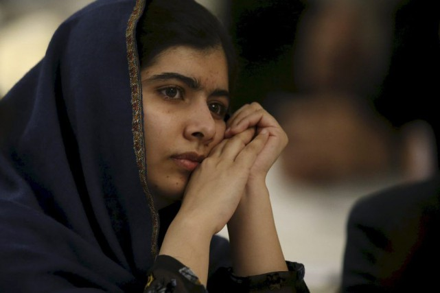 Malala Yousafzai... (PHOTO PHIL NOBLE, archives REUTERS)