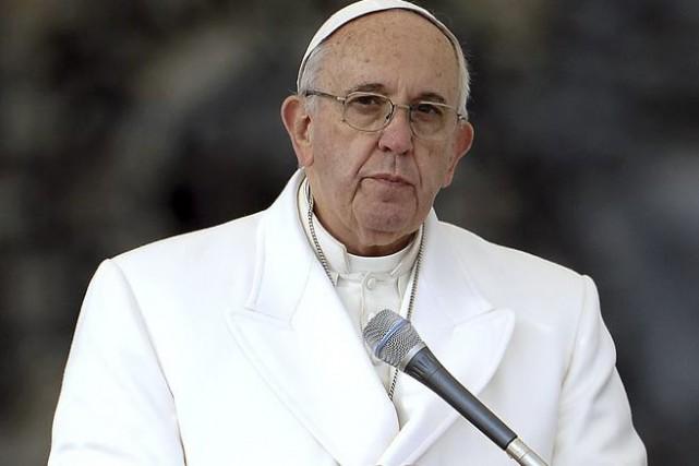 Le pape François.... (PHOTO ARCHIVES AFP)
