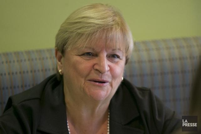 Lorraine Pagé... (PHOTO DAVID BOILY, ARCHIVES LA PRESSE)