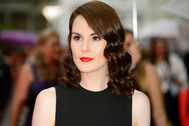 L'actrice de Downton Abbey Michelle Dockery est en deuil : son fiancé John... (PHOTO ARCHIVES AP)