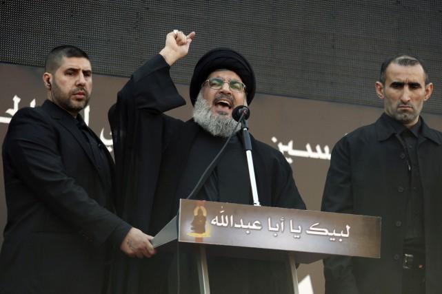 Le leader du Hezbollah,Hassan Nasrallah... (PHOTO ARCHIVES REUTERS)