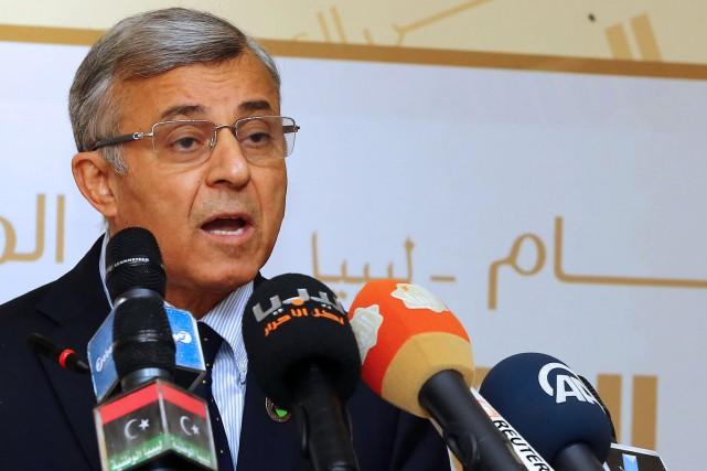 Le président du Congrès général national (CGN) Nouri... (PHOTO ARCHIVES AFP)