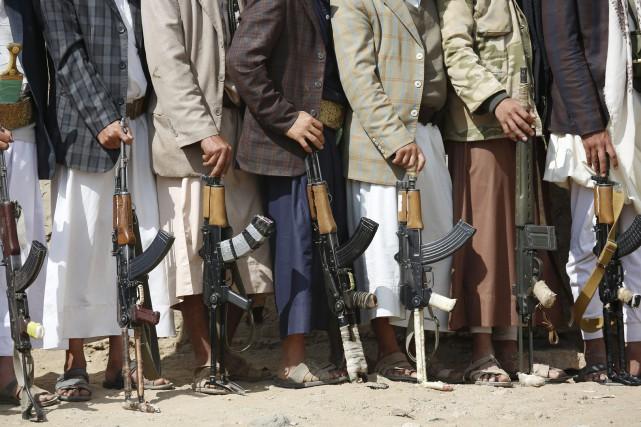 L'échange, qui doit concerner 375 prisonniers rebelles et... (Photo Hani Mohammed, AP)