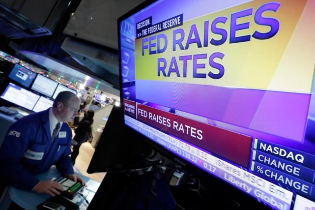 La Banque centrale américaine a pris mercredi la... (Photo Richard Drew, AP)