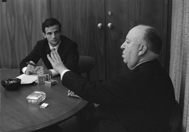 François Truffaut et Alfred Hitchcock dans le documentaire... (PHOTO FOURNIE PARCOHEN MEDIA GROUP)