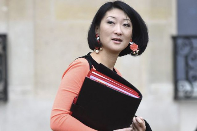 La ministre de la Culture, Fleur Pellerin (notre... (PHOTO ARCHIVES AFP)