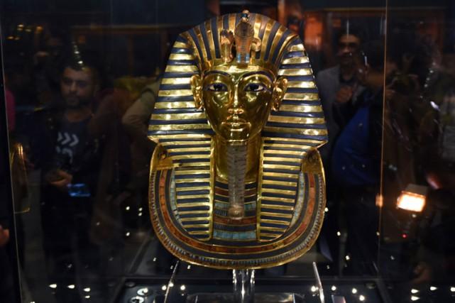 Découvert en 1922 à Louxor en Haute Égypte,... (PHOTO AFP)