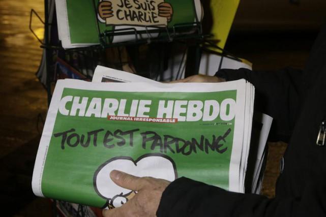 L'hebdomadaire satirique français Charlie Hebdo a annoncé mercredi... (Associated Press)