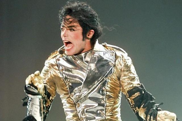 Michael Jackson. Son album Thriller est devenule premier... (PHOTO ARCHIVES AFP)