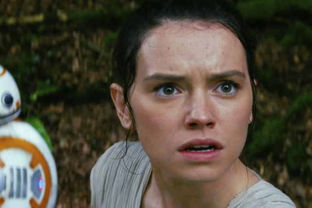 Daisy Ridley dans Le réveil de la force.L'Institut... (Fournie par Disney/Lucasfilms)