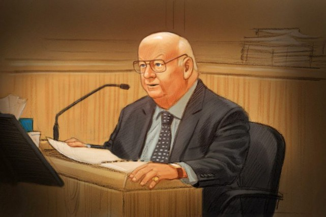 Le sénateur Mike Duffy a plaidé non coupable... (Greg Banning, PC)