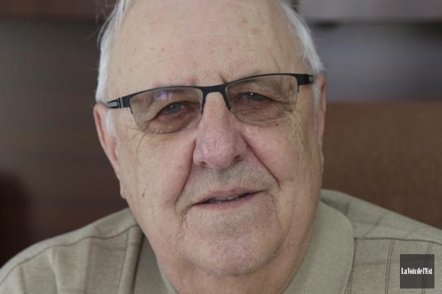 Le maire de Shefford, André Pontbriand... (Alain Dion, La Voix de l'Est)