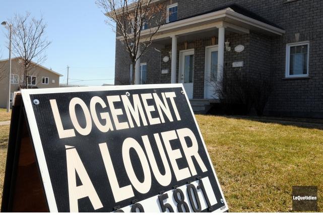Le taux d'inoccupation des logements s'établit à 7,1%... (Archives Le Quotidien, Rocket Lavoie)
