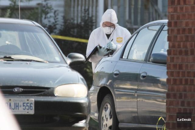 Jennifer Stewart a été tuée à la hache... (Simon Séguin-Bertrand, Archives LeDroit)