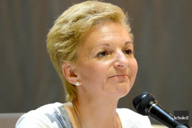 La mairesse de Sainte-Brigitte-de-Laval, Wanita Daniele, est le... (Le Soleil, Erick Labbé)