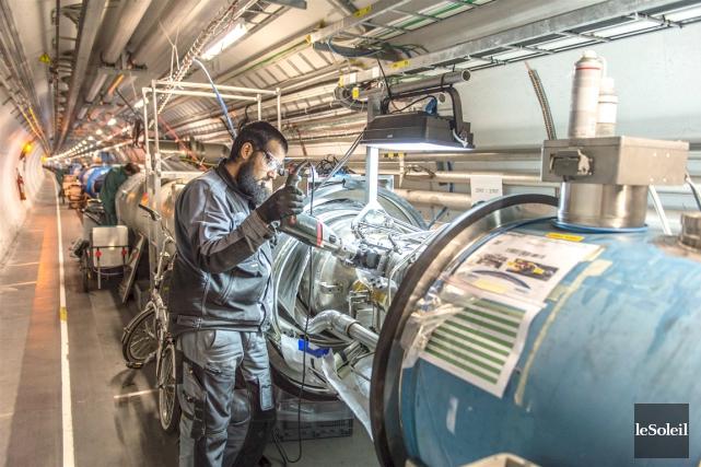 Le Large Hadron Collider,ceténorme accélérateur de particules de... (Photothèque Le Soleil)