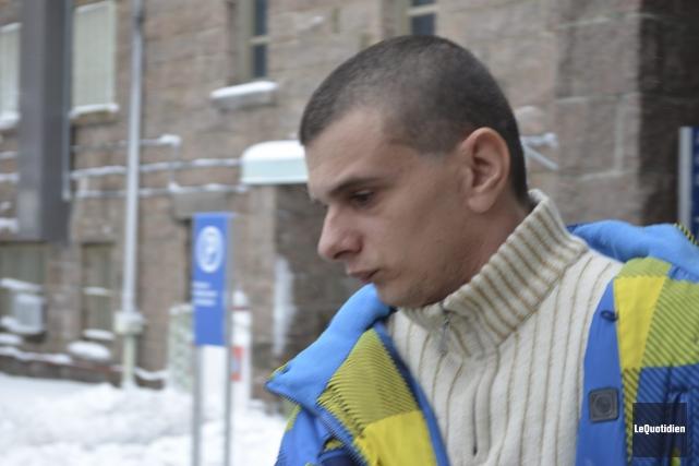 Frédérick Perron, de Saint-Félicien, a été incarcéré, mercredi,... (Photo Le Quotidien, Louis Potvin)