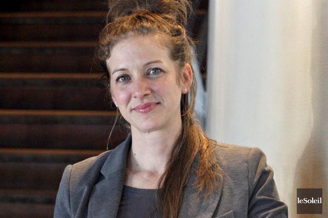 Stéphanie Lévesque, auteure deSteph bricoleet deRéussir ses rénos,... (Photothèque Le Soleil, Pascal Ratthé)