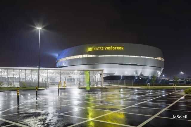Le Centre Vidéotron... (Photothèque Le Soleil)