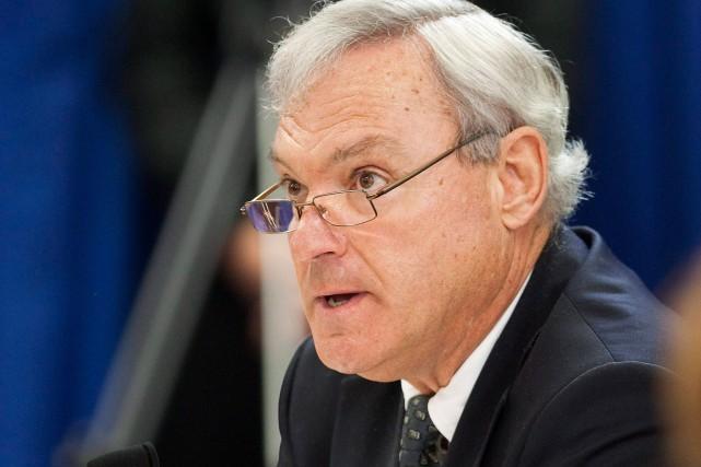 L'ancien secrétaire général du gouvernement, André Dicaire, aujourd'hui... (PHOTO JACQUES BOISSINOT, ARCHIVES LA PRESSE CANADIENNE)
