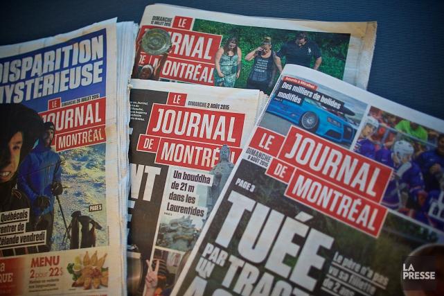LeJournal de Montréal a mis en place le... (PHOTO ANDRÉ PICHETTE, ARCHIVES LA PRESSE)