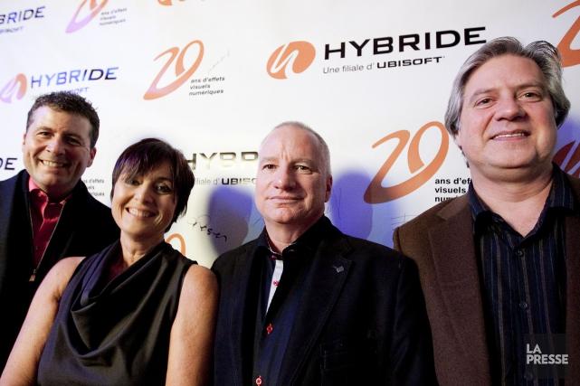 Michel Murdock, Sylvie Talbot, Pierre Raymond et Daniel... (PHOTO MARCO CAMPANOZZI, ARCHIVES LA PRESSE)