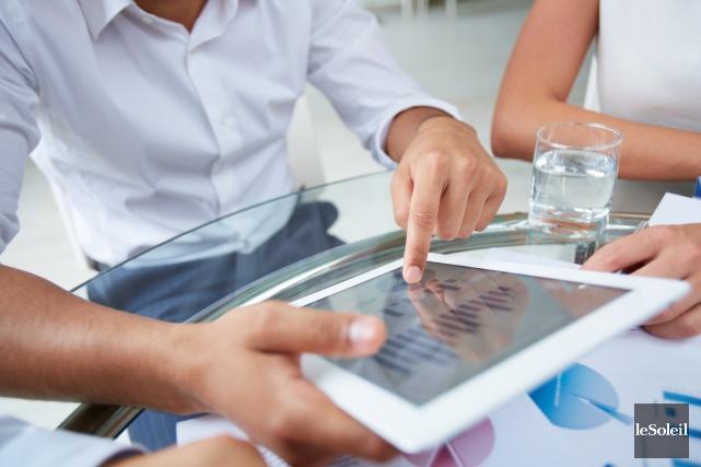 Environ 46 % des Québécois possèdent une tablette... (Photothèque Le Soleil)