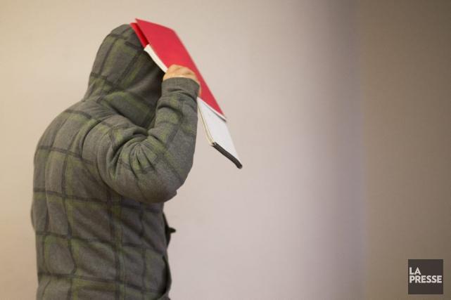 Le père de l'adolescent accusé.... (PHOTO IVANOH DEMERS, LA PRESSE)