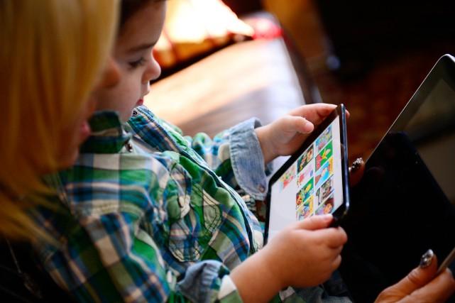 Grâce aux écrans, l'enfant peut exploiter toute sa... (PHOTO BEN SOLOMON, ARCHIVES THE NEW YORK TIMES)