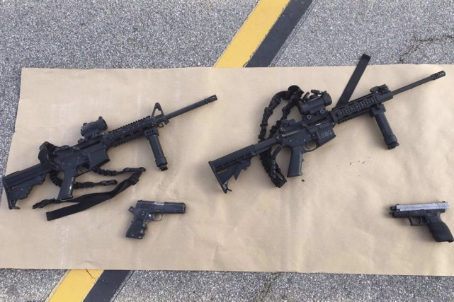 Enrique Marqueza acheté deux fusils semi-automatiques pour le... (PHOTO REUTERS/San Bernardino County Sheriffs Department)