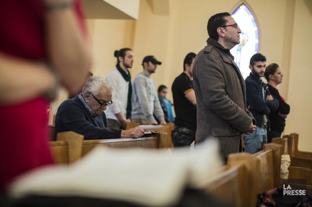 L'Église syriaque orthodoxe St-Ephrem lance un appel à la communauté d'affaires... (Archives La Presse)