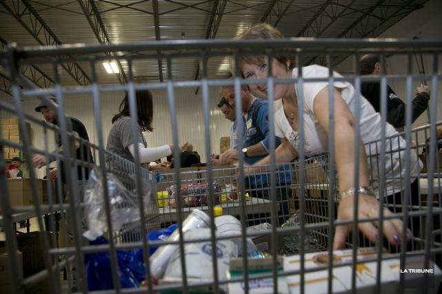 Une armée de près de 500 bénévoles sera au travail tôt vendredi matin pour la... (Archives La Tribune, René Marquis)