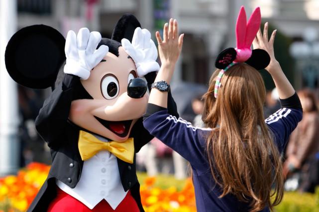Plusieurs grands parcs d'attractions américains ont renforcé jeudi leur... (Photo d'archives Bloomberg)