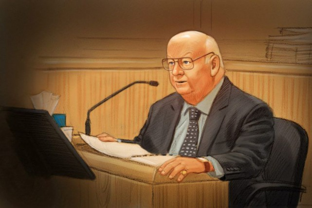 Le sénateur Mike Duffy a plaidé non coupable... (Greg Banning, PC)
