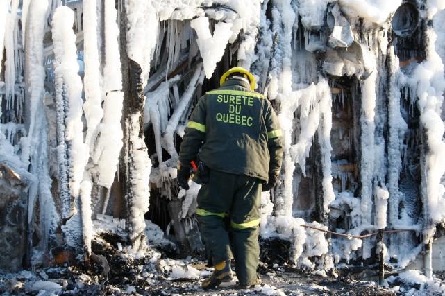 «De multiples incendies, dont plusieurs mortels, avaient pourtant... (PHOTO SÛRETÉ DU QUÉBEC)