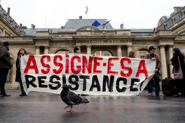 Le 11 décembre dernier, des manifestants protestent contre... (Photo ALAIN JOCARD, AFP)