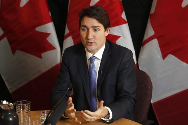 «Je suis un leader mondial maintenant donc je... (Photo d'archives PC)